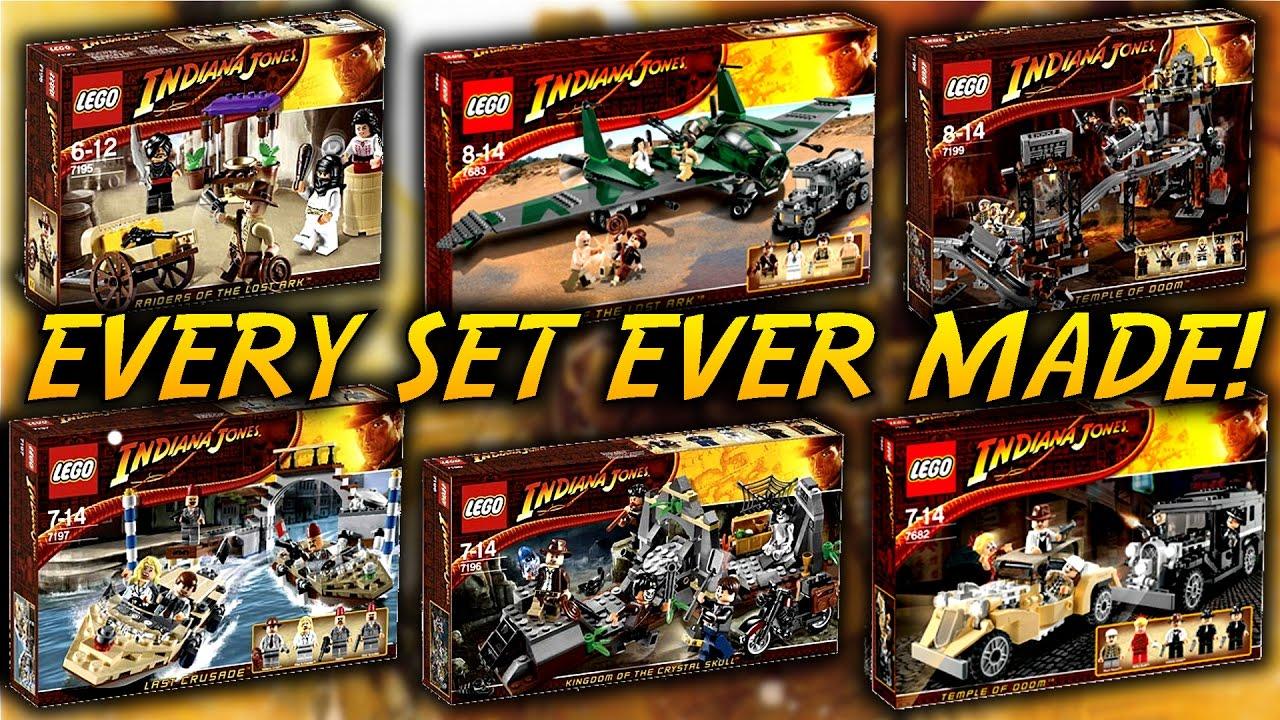 Every LEGO Indiana Jones Set EVER Made!!! - YouTube 62b6f09d3b3