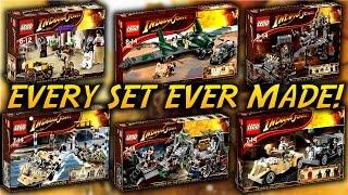 Every LEGO Indiana Jones Set EVER Made!!!