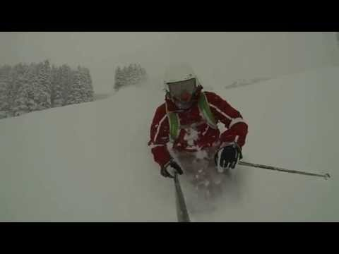 Off-Piste Powder Day 24th March 2014 - Lib Tech Fully Functional Fives