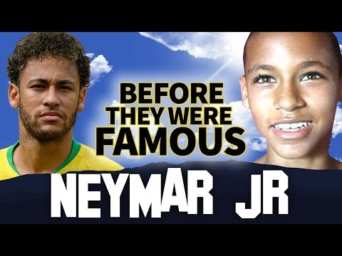 NEYMAR JR | Before They Were Famous | Team Brazil FIFA World Cup 2018
