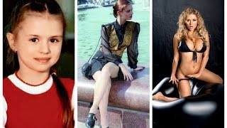 Анна Семенович в детстве и сейчас. Как изменилась Анна Семенович? Аnna Semenovich