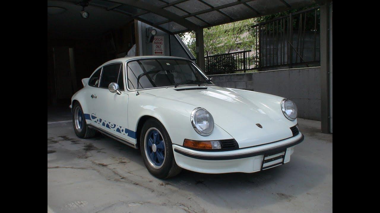 Porsche Carerrars2 7 1973 Youtube