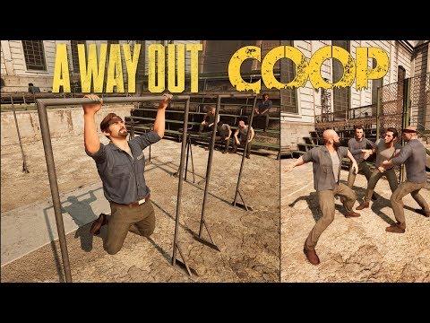 Découverte En Coop | A Way Out | Mon 1er jour en prison...