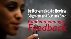 Better-Smoke Review - better-smoke.de - E-Zigarette E-Liquids Onlineshop