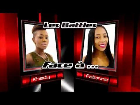 Khady vs Fallonne - Yeke Yeke (Les battles | The Voice Afrique francophone 2016)