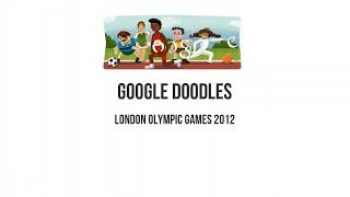 Google Doodles London Olympic Games 2012