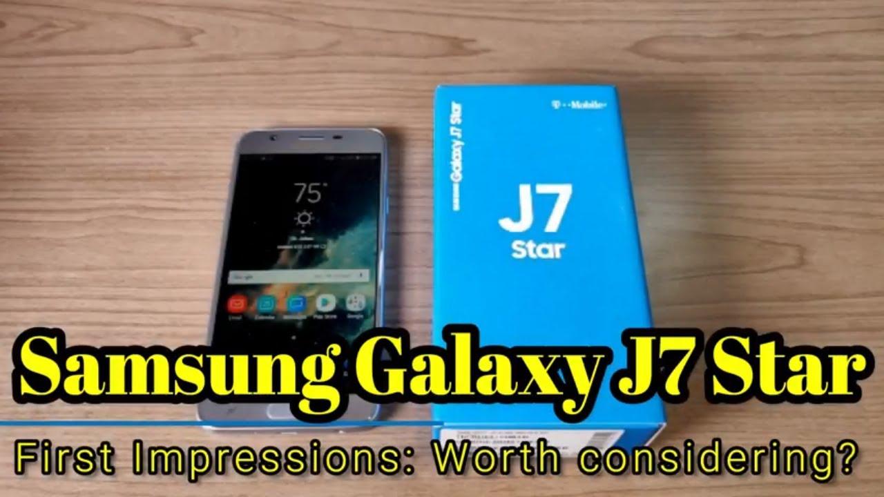hot sale online 1fb5c 60e2c Samsung Galaxy J7 Star - First Impressions - A device worth considering?