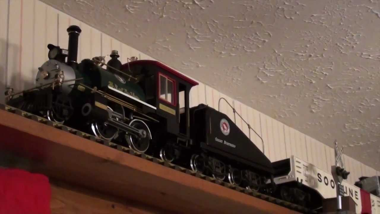 aristo craft great northern g scale train set youtube