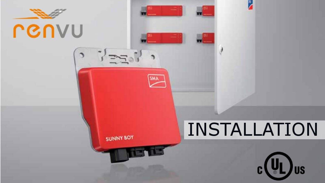 How To Install The Sma Sunny Boy 240 Us Micro Inverter Youtube Wiring Diagram