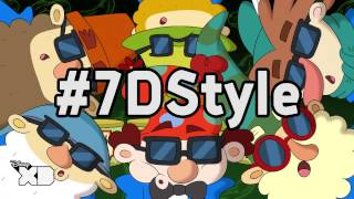 The 7D - 7D Style Song - Official Disney XD UK HD