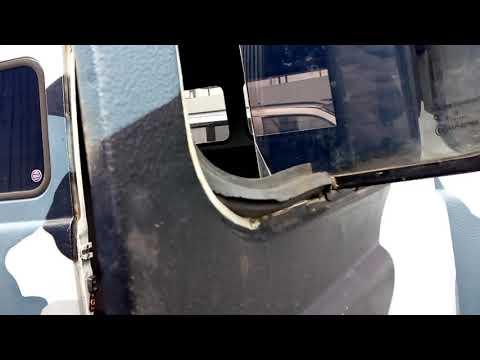 Раздвижные окна на УАЗ 2206 .Готовлюсь к установке панары .