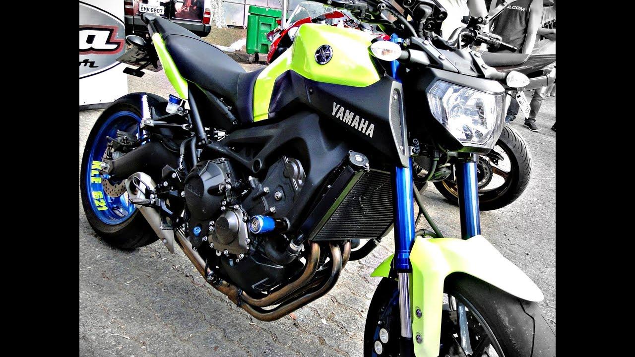 kle621full motorcycle yamaha mt 09 amarela abs apresenta o da moto youtube. Black Bedroom Furniture Sets. Home Design Ideas