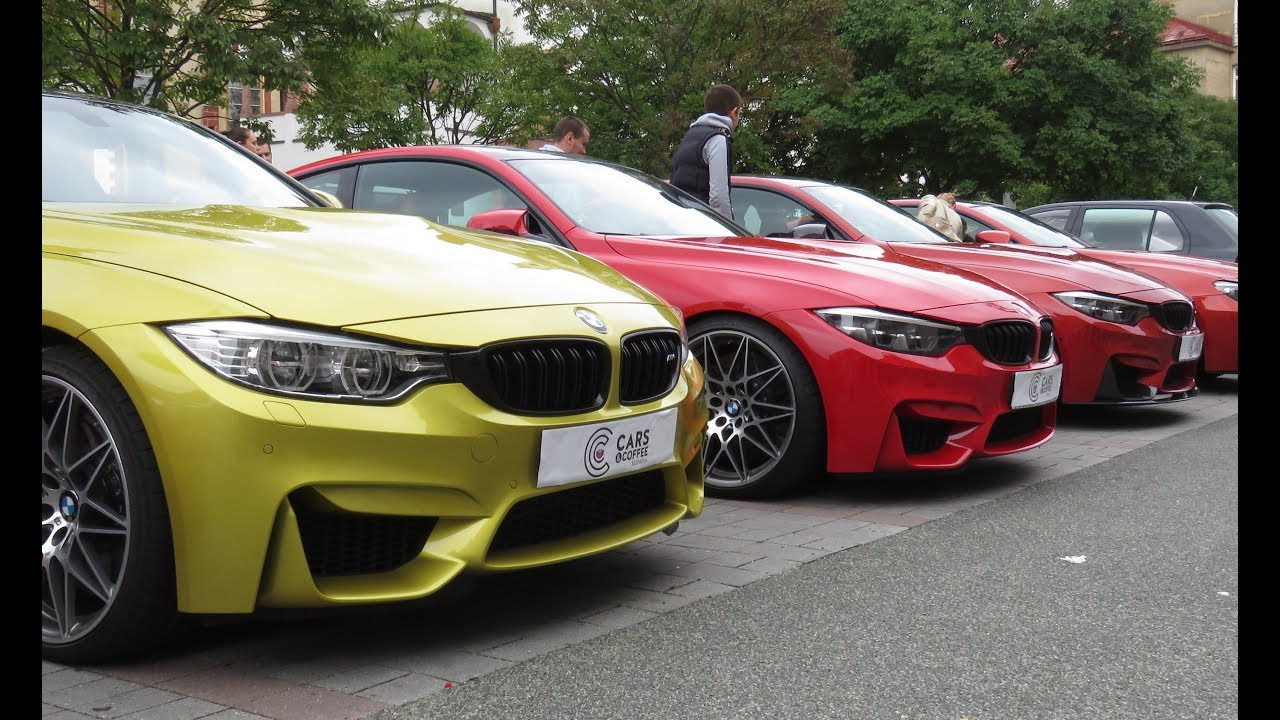 Cars And Coffee Slovakia 2017 Supercars Sound Mercedes Bmw Audi