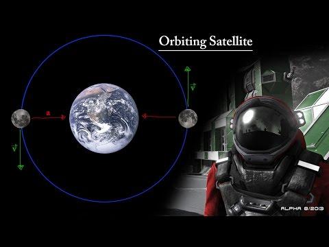 Space Engineers | Orbiting Satellite