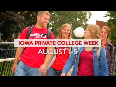 Iowa Private College Week at Central College