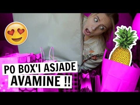PO BOX'I pakkide/kirjade avamine !!