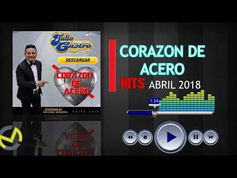 JULIO CASTRO Y SU ORQUESTA PONGALE SABOR CORAZON DE ACERO PRIMICIA ABRIL 2018