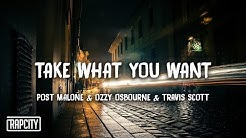 Post Malone - Take What You Want (Lyrics) ft. Ozzy Osbourne & Travis Scott