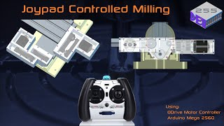 CNC Mill Conversion Part 7 - Solar Powered Milling Parts with Joypad control