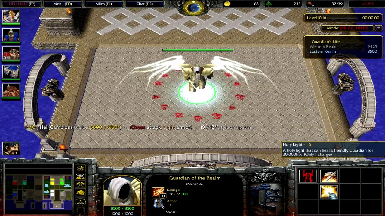 Warcraft 3 | Legion TD v4 1 0 5 | Latest Version | I like this version a lot