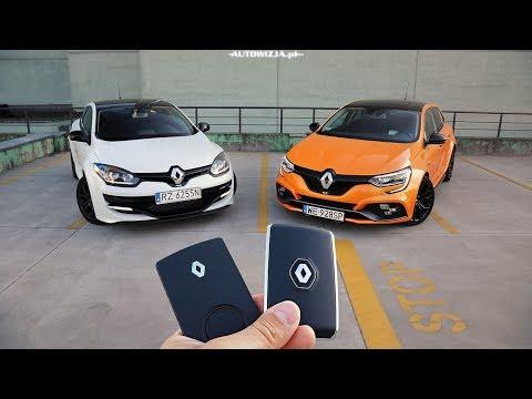 Renault Megane 4 RS vs Renault Megane 3 RS TEST POV Drive & Walkaround