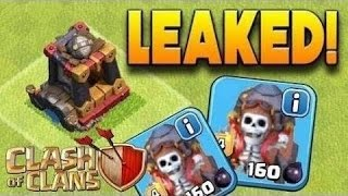 MAY 2017 UPDATE LEAKS:CLASH OF CLANS