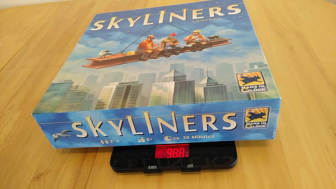 Skyliners boardgame – how to setup, play and review * Amass Games *