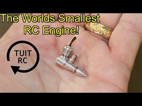 The Smallest RC Engine In The WORLD!