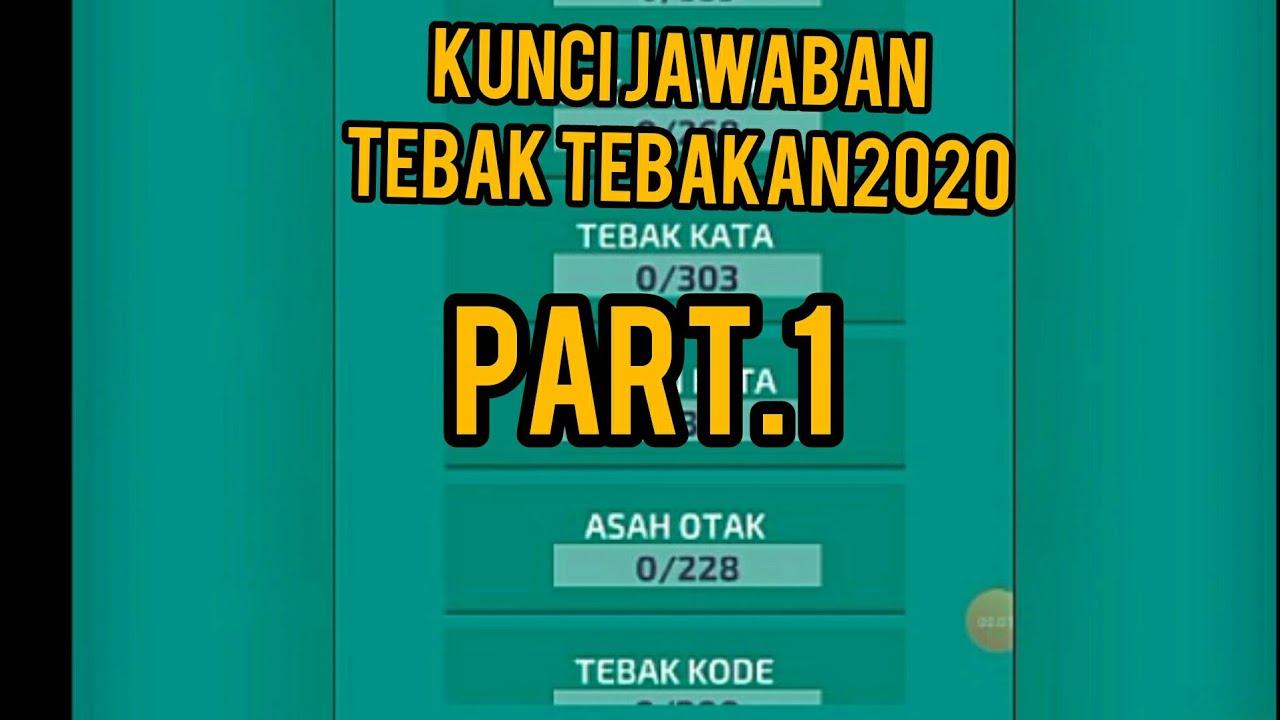 Kunci Jawaban Tebak Tebakan 2020 Part1 Youtube