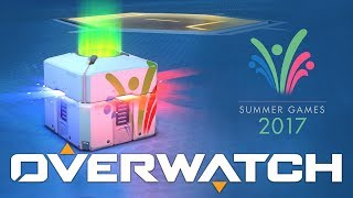 Overwatch - Summer Games Loot Box Opening