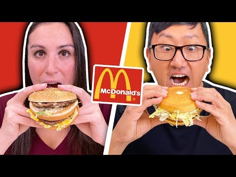 WRONG WAY VS RIGHT WAY // Eating ALL THE McDonalds Food