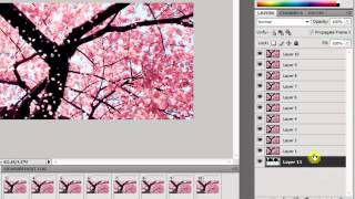 How to make a GIF banner using Photoshop CS4