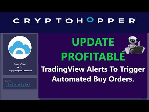 Profit Update CryptoHopper TradingView Ichimoku Alerts To Trigger Automated Crypto Bot Trading ETH