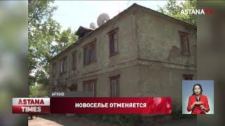 Дом без пола и потолков построили для нуждающихся в Павлодаре