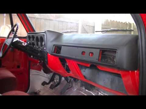 PART 2 C10 Dashboard And Custom Speaker Installation | 73-87 Chevrolet