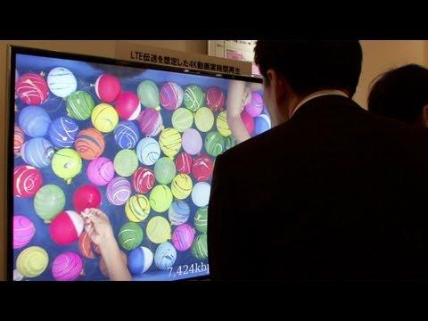 Docomo demos HEVC (H.265) new video coding standard