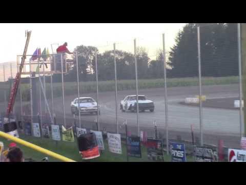 Merritt Speedway 4 Cylinder Heat 3 9/17/16