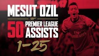 ALL of Mesut Ozil's 50 Premier League assists - part one