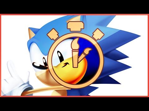 Toei Sonic Classic Render Process (Timelapse)