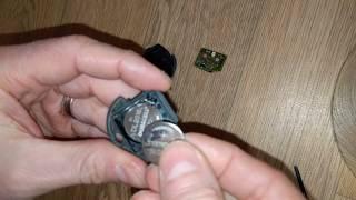 Seat Ibiza Key Fob Battery Change 1999 - 2002