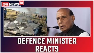 Defence Minister Rajnath Singh Clarifies On MiG 29K Fighter Aircraft Crash In Goa