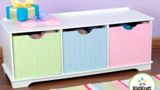 Kidkraft Nantucket Storage Benches
