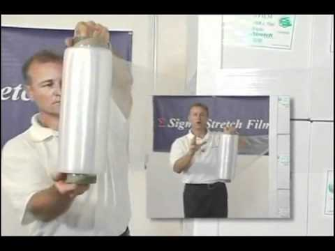 Sigma ECO Supreme Stretch Film available from Tarheel Paper Company.