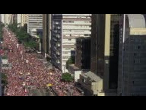 Massive Crowds Join In Brazil's LGBT Pride Parade