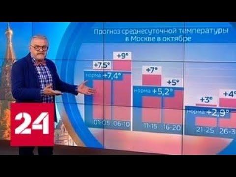 Октябрь будет аномальным во всех регионах страны - Россия 24