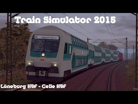 train simulator 2015 von l neburg hbf nach celle hbf let 39 s play deutsch full hd youtube. Black Bedroom Furniture Sets. Home Design Ideas