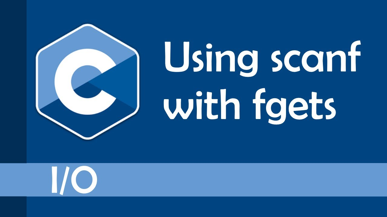 How to use scanf with fgets