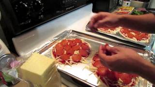 Tortilla Homemade Pizza Very Easy And Delicious