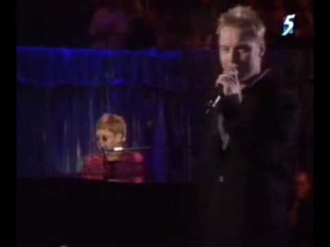 Elton John ft. Ronan Keating - Your Song (Live - New York Ci
