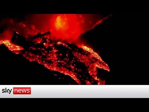 La Palma volcano: Lava due to hit Atlantic Ocean